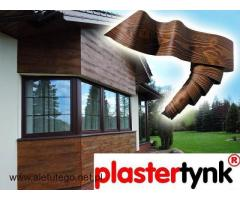Elastyczna deska elewacyja PlasterTynk - Imitacja drewna