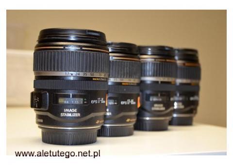 Naprawa obiektywów Canon, serwis obiektywów Canon