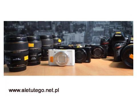 Czyszczenie filtra matrycy Canon Katowice Centrum