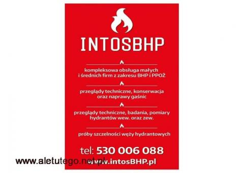 Szkolenia BHP i usługi BHP Podkaprackie