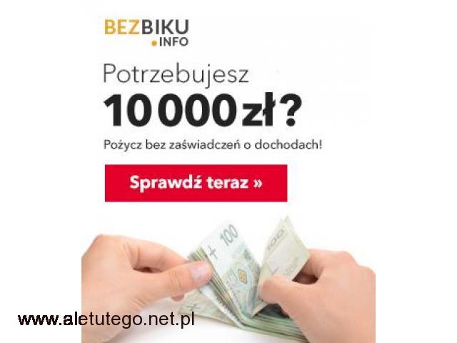 Pożyczki pozabankowe dla każdego - 1/1