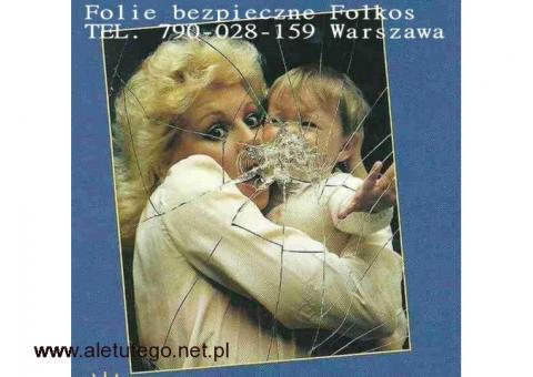 Folia bezpieczna 4Mil 2B2 -folia antywłamaniowa 12MIL P2A Warszawa Folie HACCP