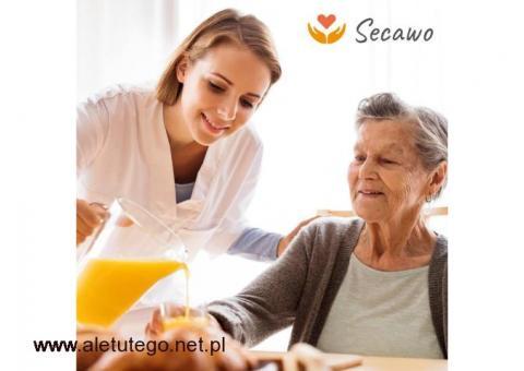 Praca w Niemczech jako Opiekunka osób starszych! Zarabiaj nawet 1500 Euro na rękę