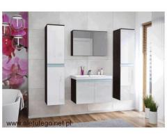 Pojemne szafki do łazienki stojące Mirat