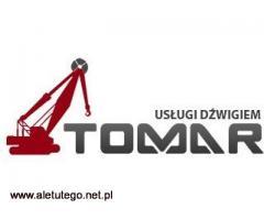 TOMAR - wynajem i usługi dźwigiem w Poznaniu