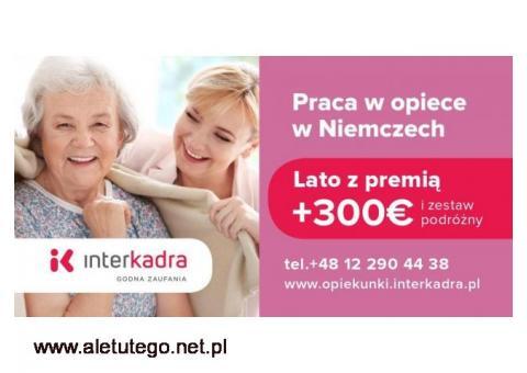 Opieka do Seniora (89l.) + premia letnia do 300€