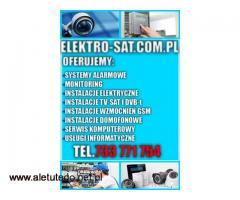 Systemy alarmowe, monitoring, kamery. Montaż i serwis Szczecin