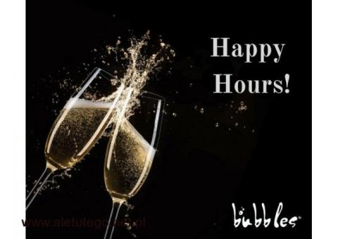 Happy hours na bąbelki – zapraszamy!