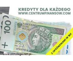 Kredyty dla każdego Katowice - Kraków - Chrzanów