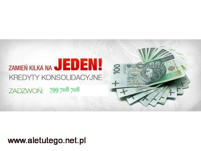 Konsolidacja kredytów - SPŁATA chwilówek - 1/1