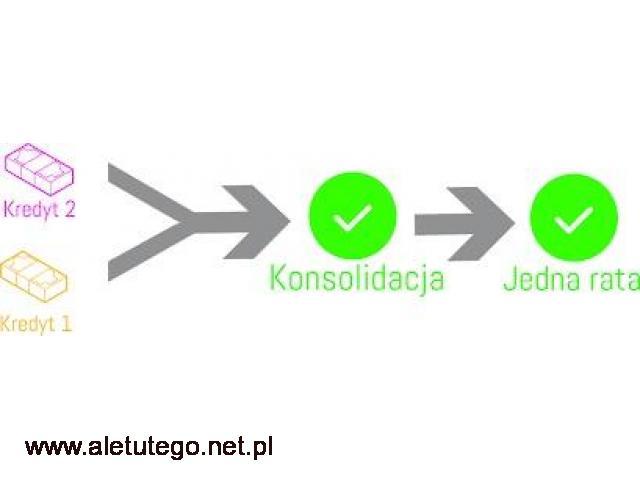 Konsolidacja Kredytów - Chwilówek Rzeszów,Kraków,Katowice - 1/1