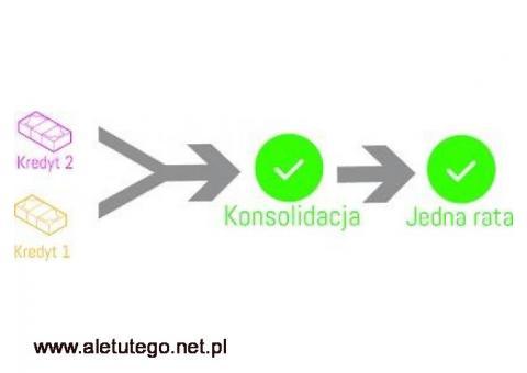 Konsolidacja Kredytów - Chwilówek Rzeszów,Kraków,Katowice
