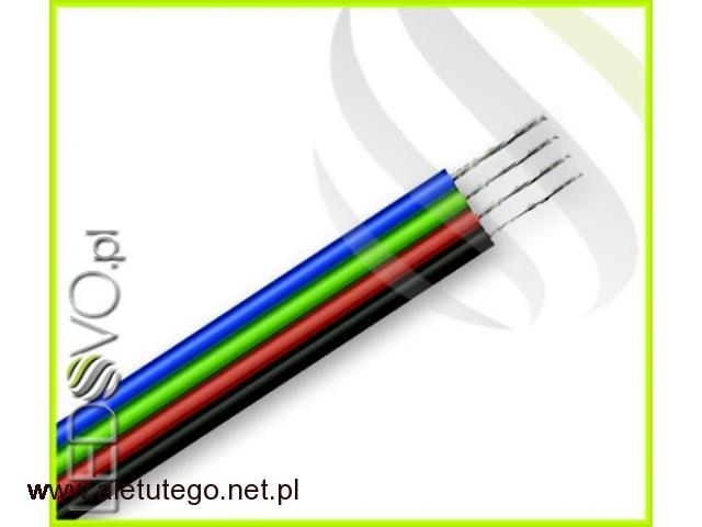 Kabel led RGB do taśm LED 4X0,35 1MB - 1/1