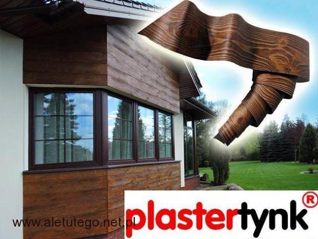 Promocja - Elastyczna Deska Elewacyjna PlasterTynk 3D | DARMOWE PRÓBKI | - 1/1