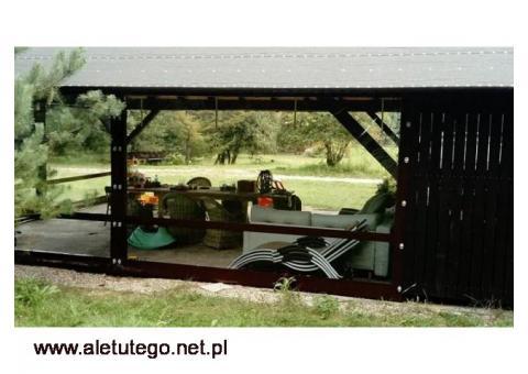 PLANDEKA PVC, OSŁONA ALTANY, ZABUDOWA TARASU 680GR