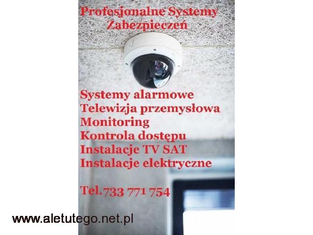 Montaż systemów alarmowych i monitoringu Szczecin - 1/1