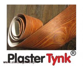 PlasterTynk elastyczna deska elewacyjna dekorlux Plastmaker imitacja drewna