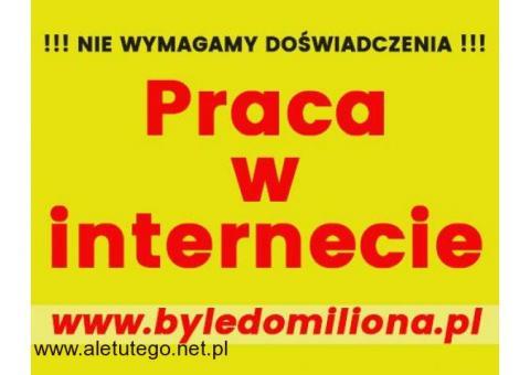 Praca w internecie / Praca wykonywana w domu / Zdalna