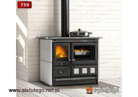 Kuchnie na węgiel i drewno