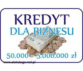 KREDYT pozabankowy dla biznesu od 50.000 do 5.000.000 zł