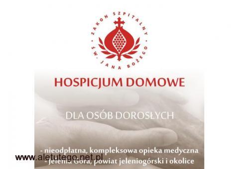 Bezpłatne HOSPICJUM DOMOWE dla dorosłych