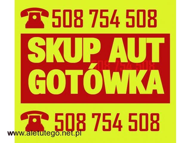 Skup samochodów sprawnych / Skup aut ZA GOTÓWKĘ - 1/1