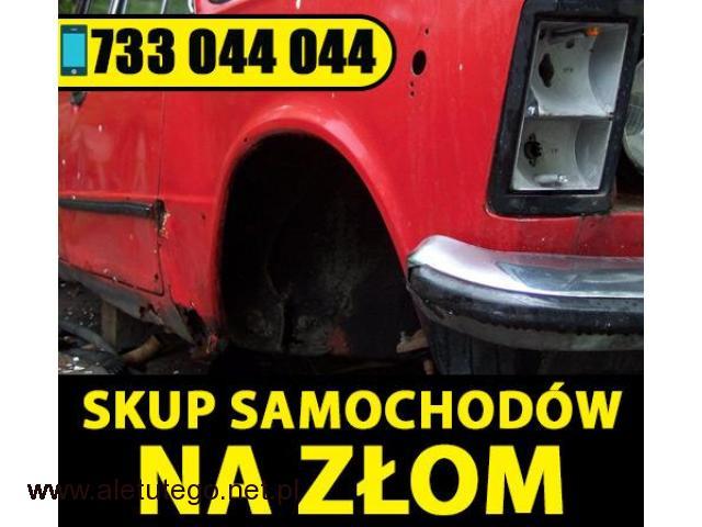 Skup samochodów na złom Śląsk / Małopolska / Opolskie - 1/1