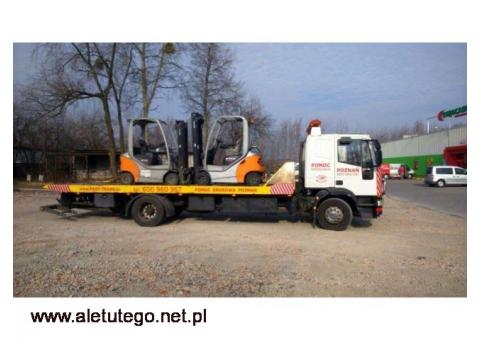 Profesjonalny transport maszyn budowlanych - Fast-Trans