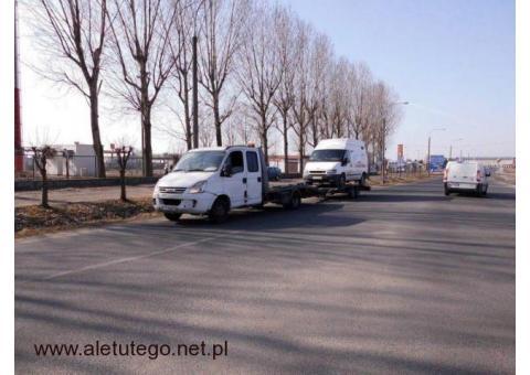 Transport na lawecie pojazdów i towarów