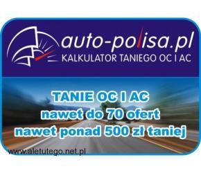 Najtańsze OC i AC. Kalkulator online