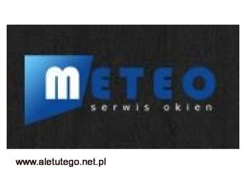 SerwisMeteo.pl wymiana szyby w oknie Warszawa