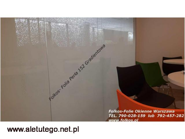 Folie okienne Warszawa Bielany - Oklejanie szyb Folie okienne Folkos - 1/2