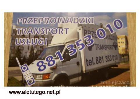 Transport, przeprowadzki - tanio, sprawnie i bezpiecznie