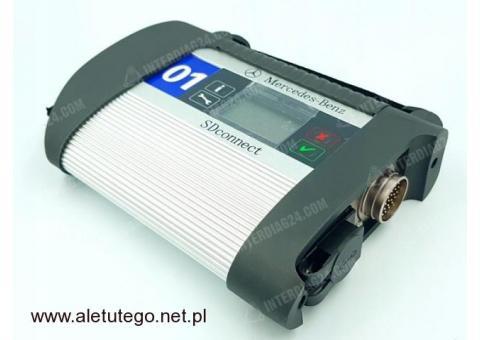 MERCEDES SD CONNECT C4 interfejs diagnostyczny