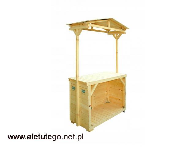 Stragan handlowy stoisko pawilon SOLIDNY PRODUCENT - 1/2