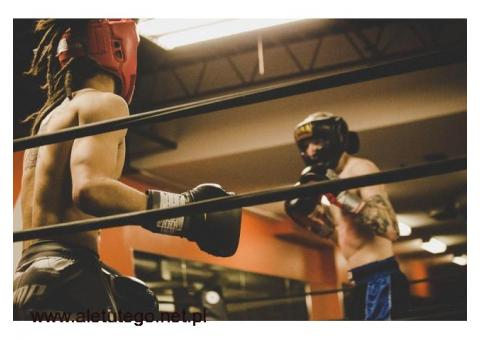 Kask bokserski Sport Masters