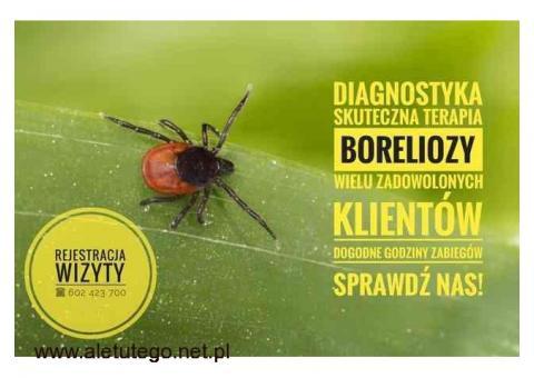 BORELIOZA TO NIE WYROK - diagnostyka, skuteczna terapia!