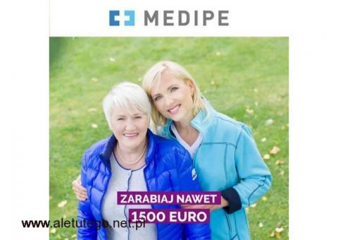 PILNE - NIEMCY ZLECENIE DO PARY SENIORÓW - ZEWNĘTRZNA POMOC / PRACA OPIEKA - 1550 EURO