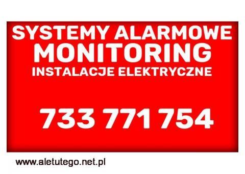 Systemy alarmowe, montaż serwis alarmu Białogard