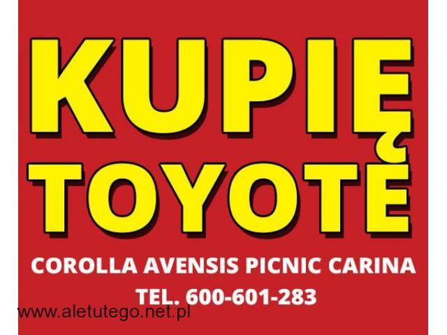 Kupię Toyote Corolla Avensis Picnic Carina - Dobre Ceny - 1/1