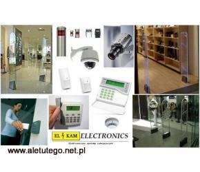 Bramki antykradzieżowe, systemy kamer, liczniki klientów, CAŁY KRAJ