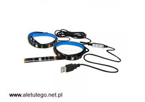 Oświetlenie telewizora LED RGB