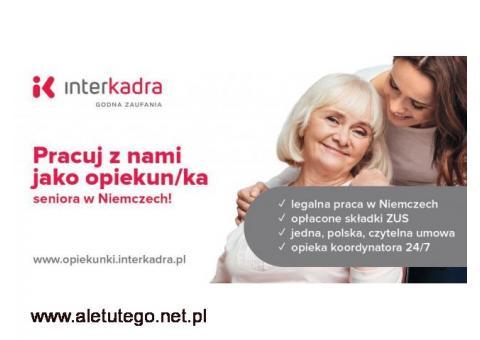 Potrzebny Opiekun/ka dla Seniora Markusa w Mengen