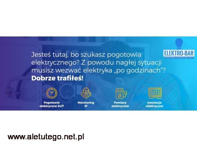 Elektro-Bar - elektryczne pogotowie w Krakowie - 1/1