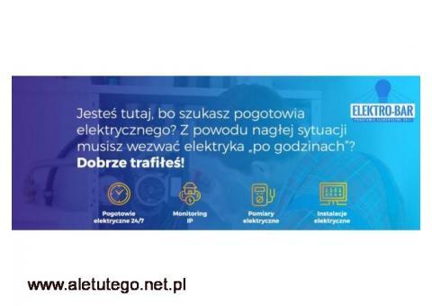 Elektro-Bar - elektryczne pogotowie w Krakowie