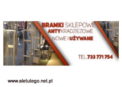 Bramki i systemy przeciwkradzieżowe, zabezpieczenie sklepu Gniezno