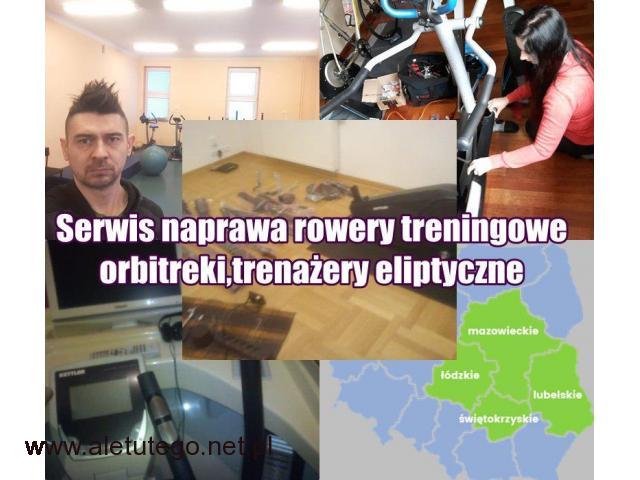 Serwis naprawa Rowery treningowe,orbitreki,trenażery eliptyczne - 1/1