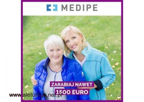 ZLECENIE DLA OPIEKUNKI (NIEMCY) Z PRAWEM JAZDY ZA 1450 EURO + PREMIA