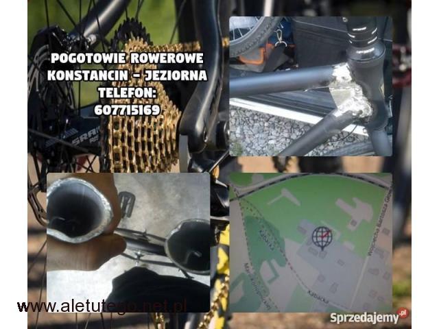Mobilny serwis rowerowy (door to door) Warszawa Konstancin ,Naprawa Rowerów - 1/1