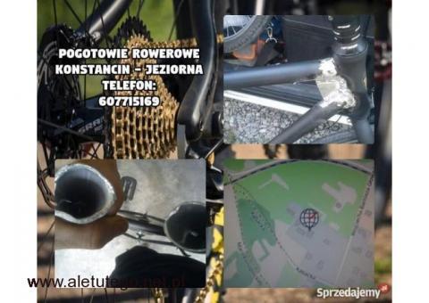 Mobilny serwis rowerowy (door to door) Warszawa Konstancin ,Naprawa Rowerów